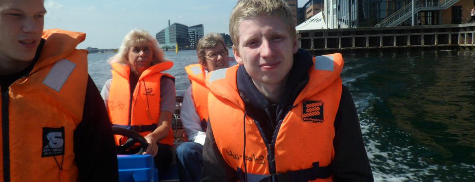 Vi øver i sømandsskab i Københavns Havn